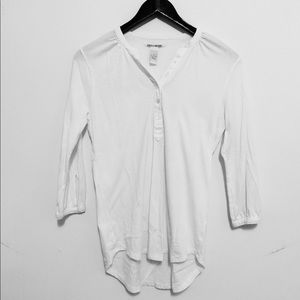 Lucky Brand Womens Del Mar Henley Shirt